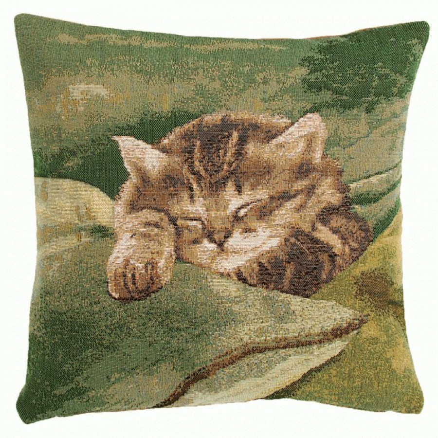 Cushion cover Sleeping Cat