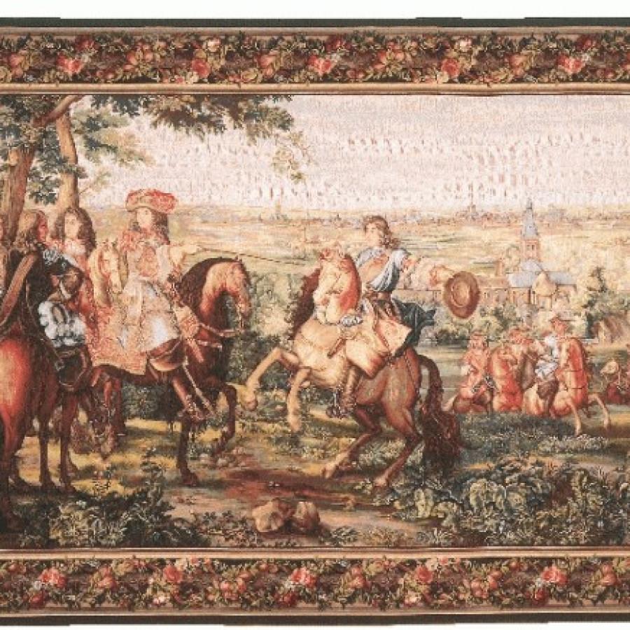 Tapestry La prise de Lille, without border
