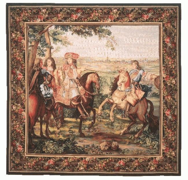 9071 la prise de lille carr tapisseries art de lys - Carre blanc lille ...