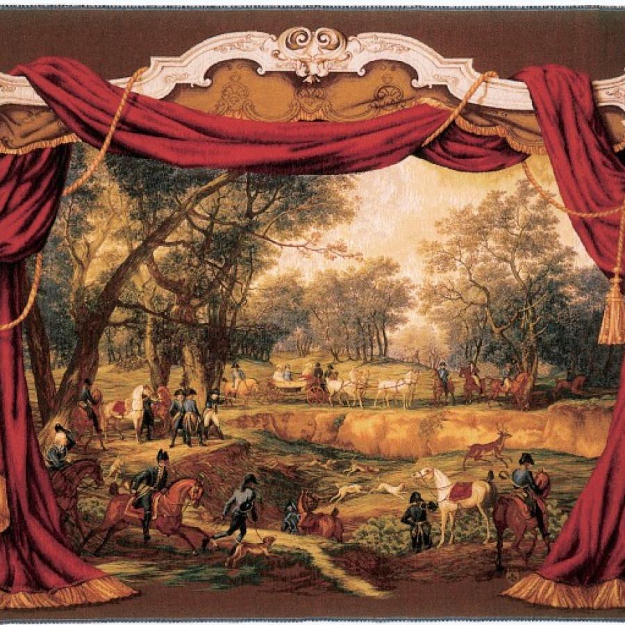 Tapestry Promenade Napoléonienne