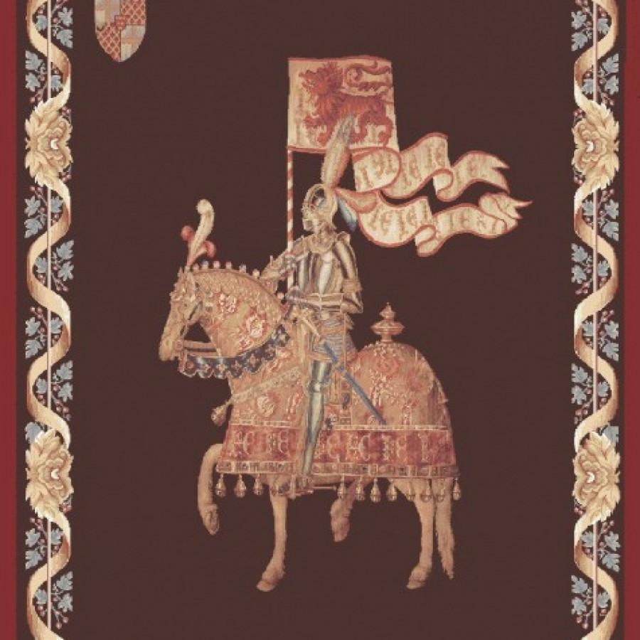 9128  : Le chevalier - fond uni
