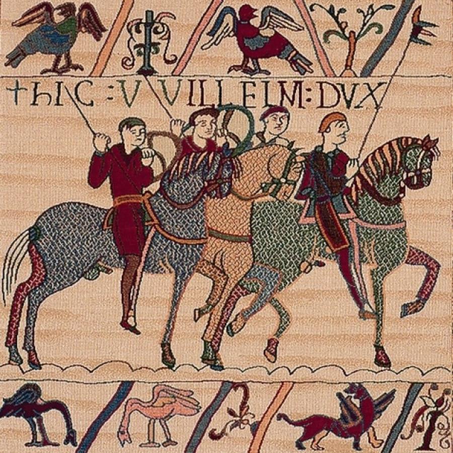 Tapestry 75074 : Bayeux battleship