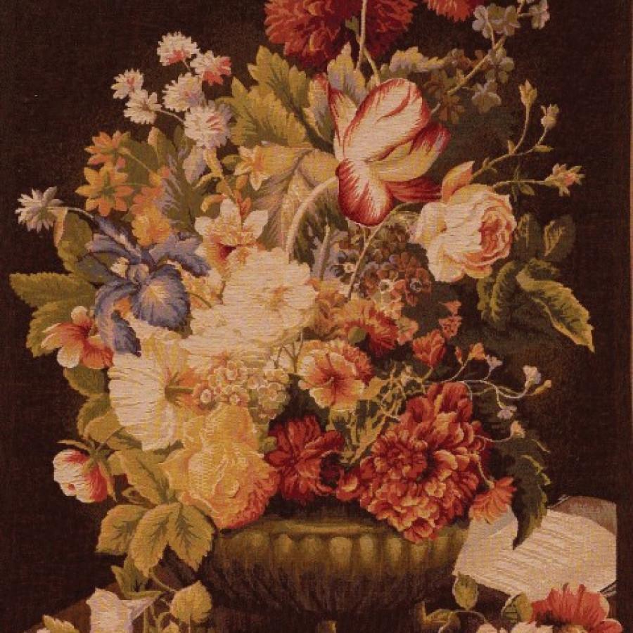 9164F : Bouquet tulipe, fond foncé
