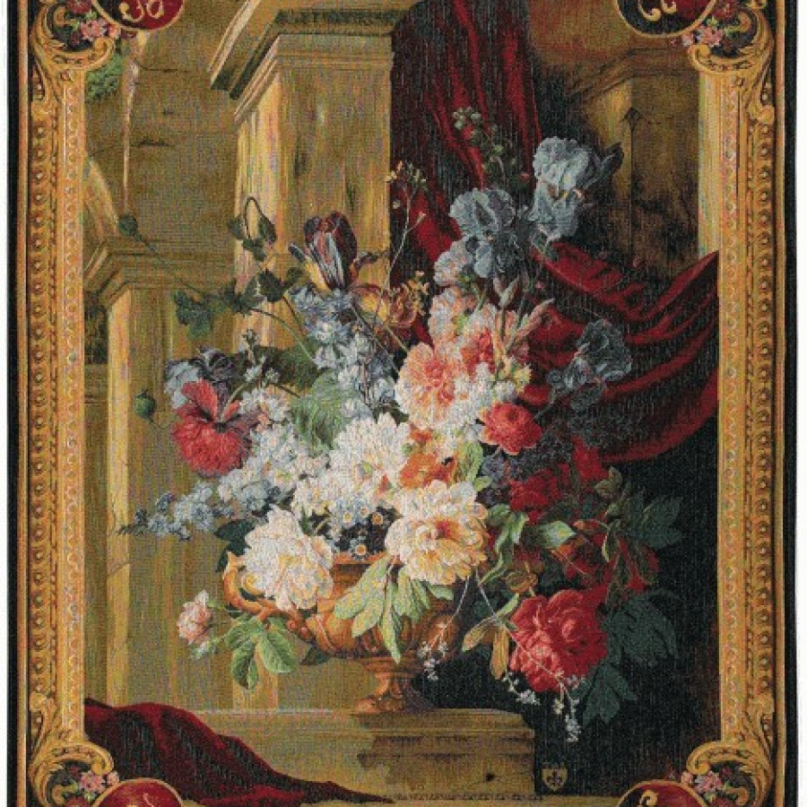 9040 : Bouquet et architecture vertical