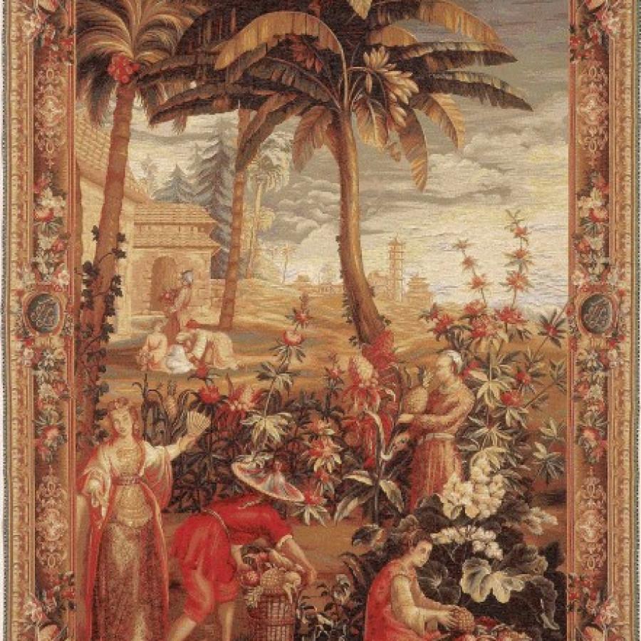 Tapestry La récolte des ananas