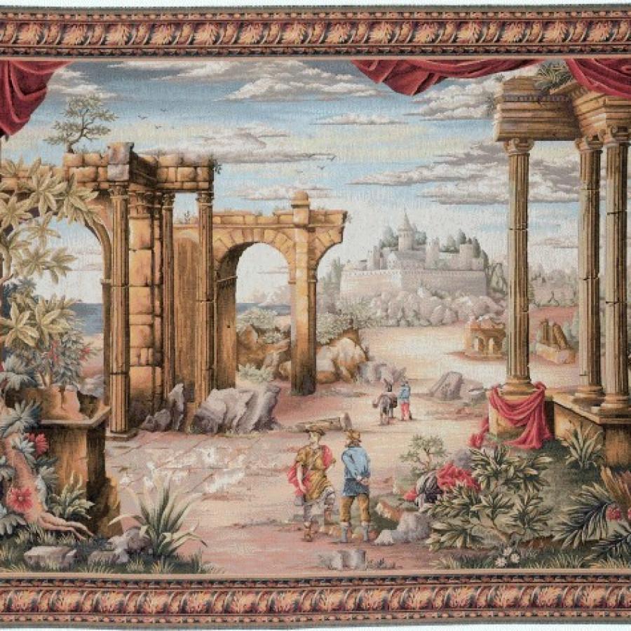 Tapisserie Vue antique