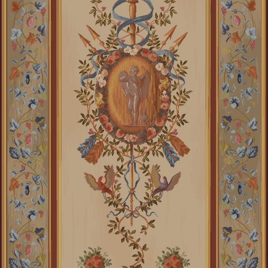 Tapestry Portière Cupid