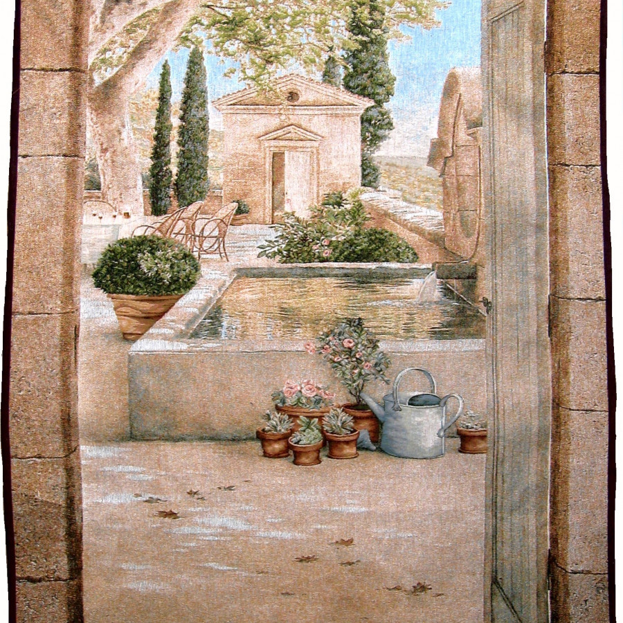 Tapestry 8459, Paysage en Provence