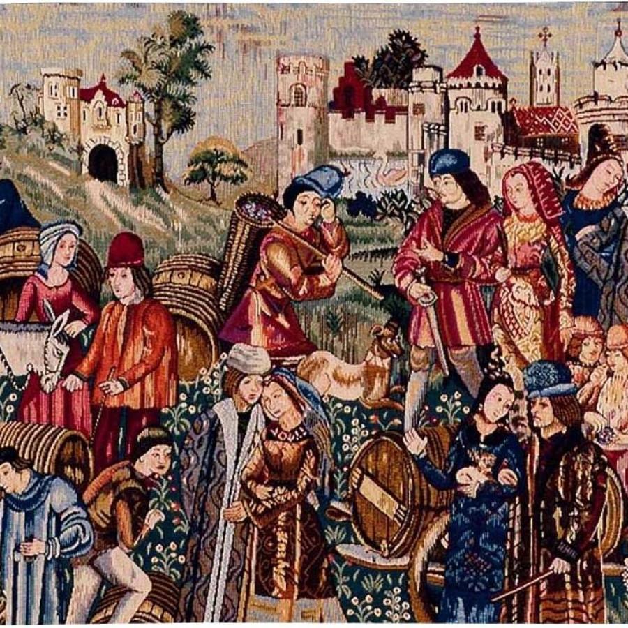 Tapestry Marché au vin