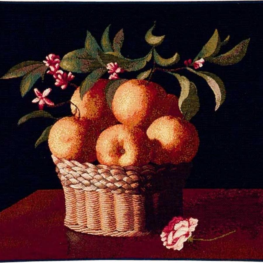 Tapestry Basket of Orange