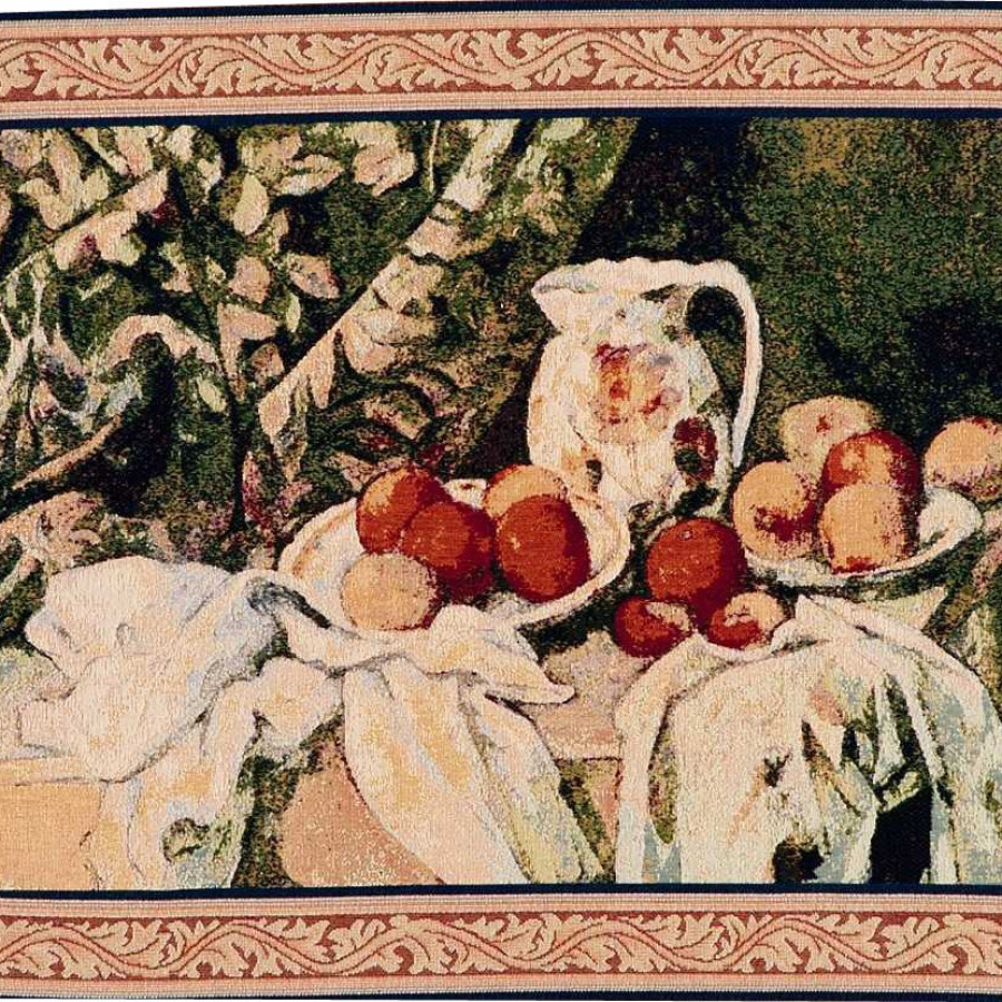 Tapestry The apple basket, Paul Cézanne