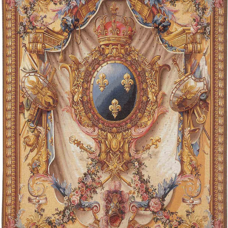 Tapestry large coat of arms