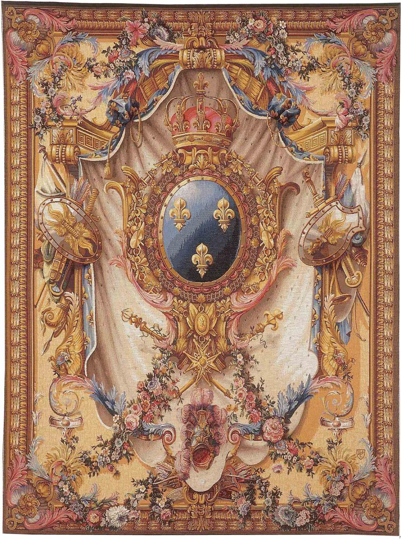 9089 grandes armoiries tapisseries art de lys. Black Bedroom Furniture Sets. Home Design Ideas