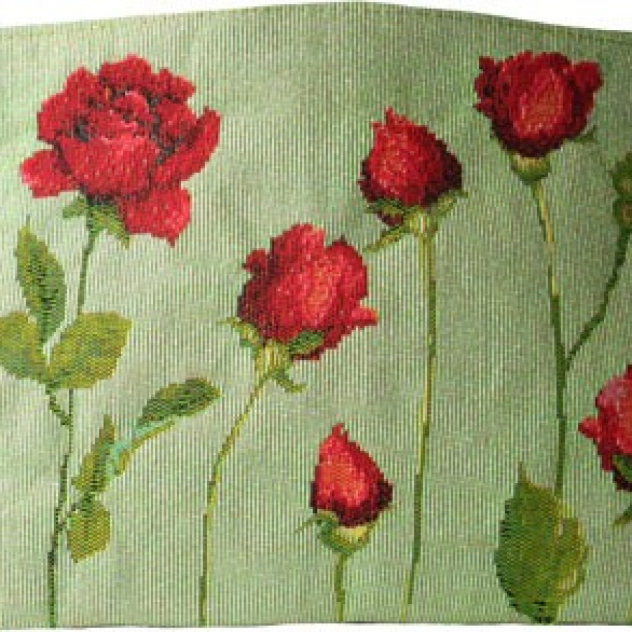 Cosmetic bag Red roses on