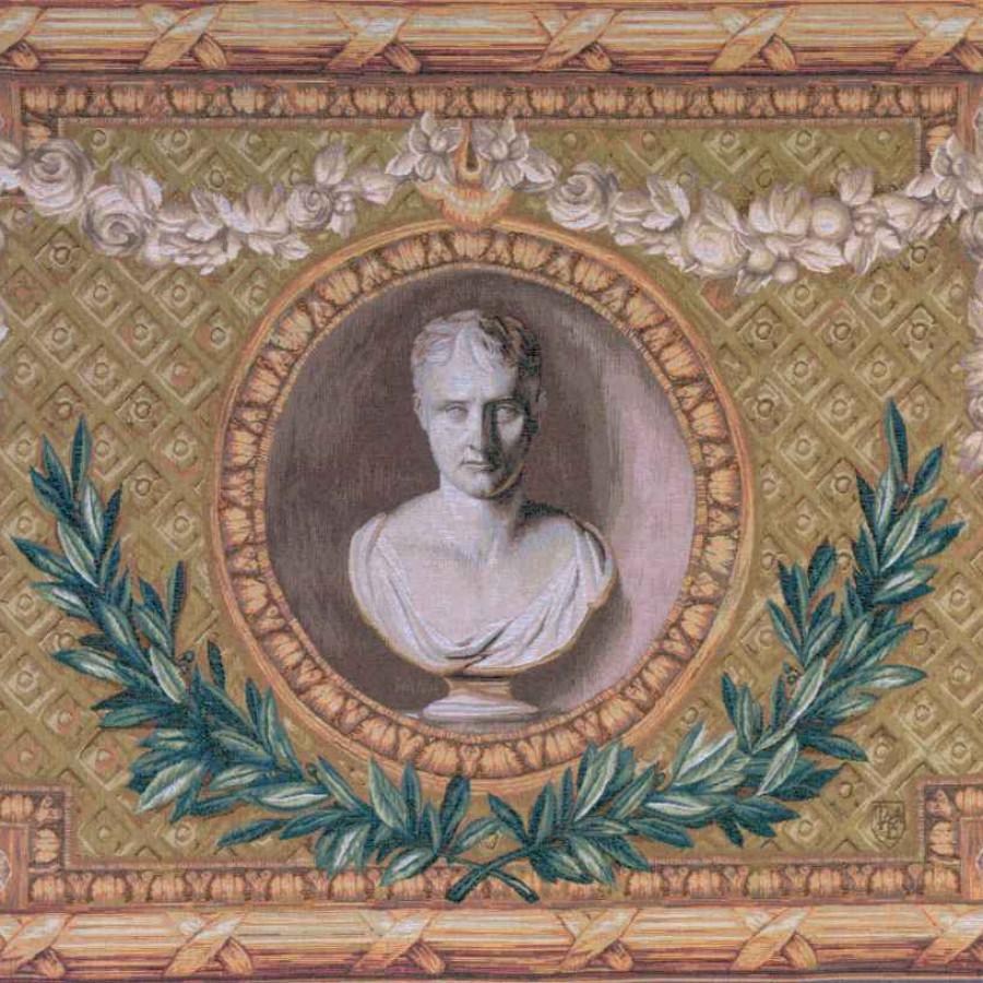 Tapisserie Tapisserie Napoléon en médaillon