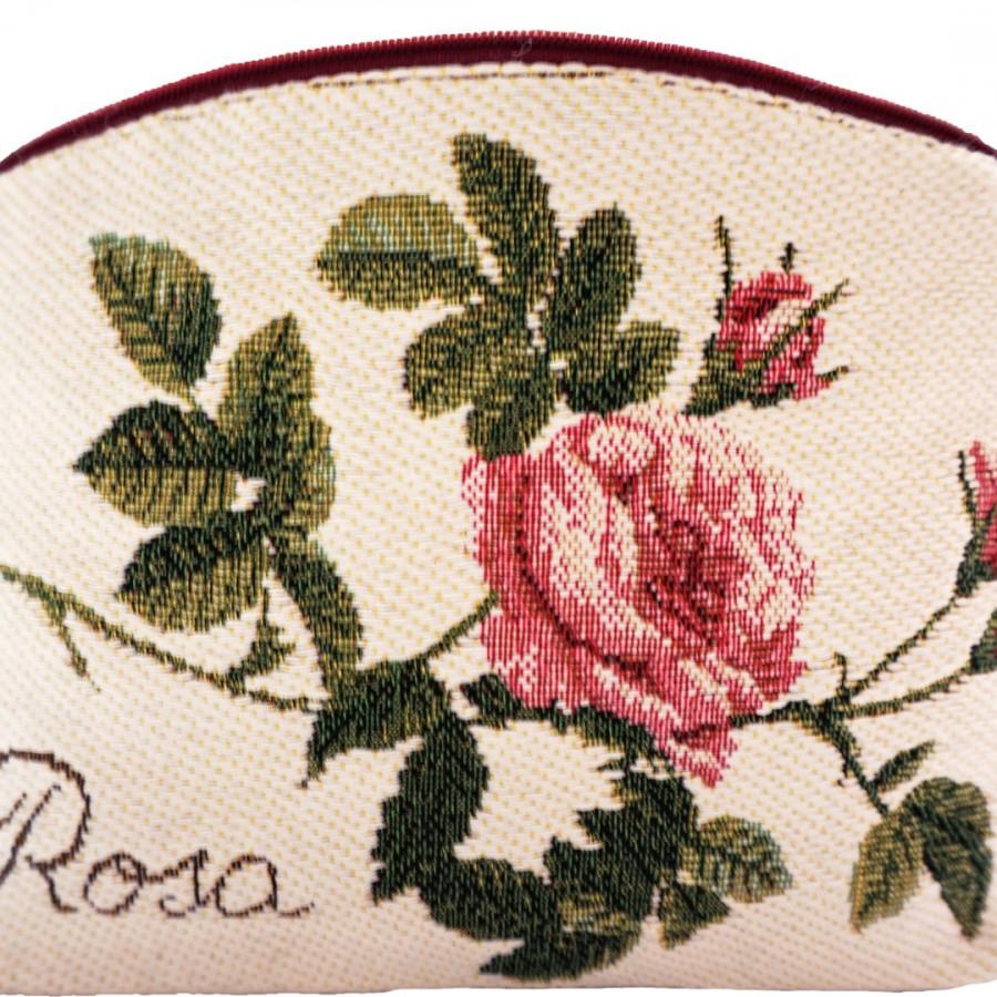 2272B : Roses de Redouté , fond blanc