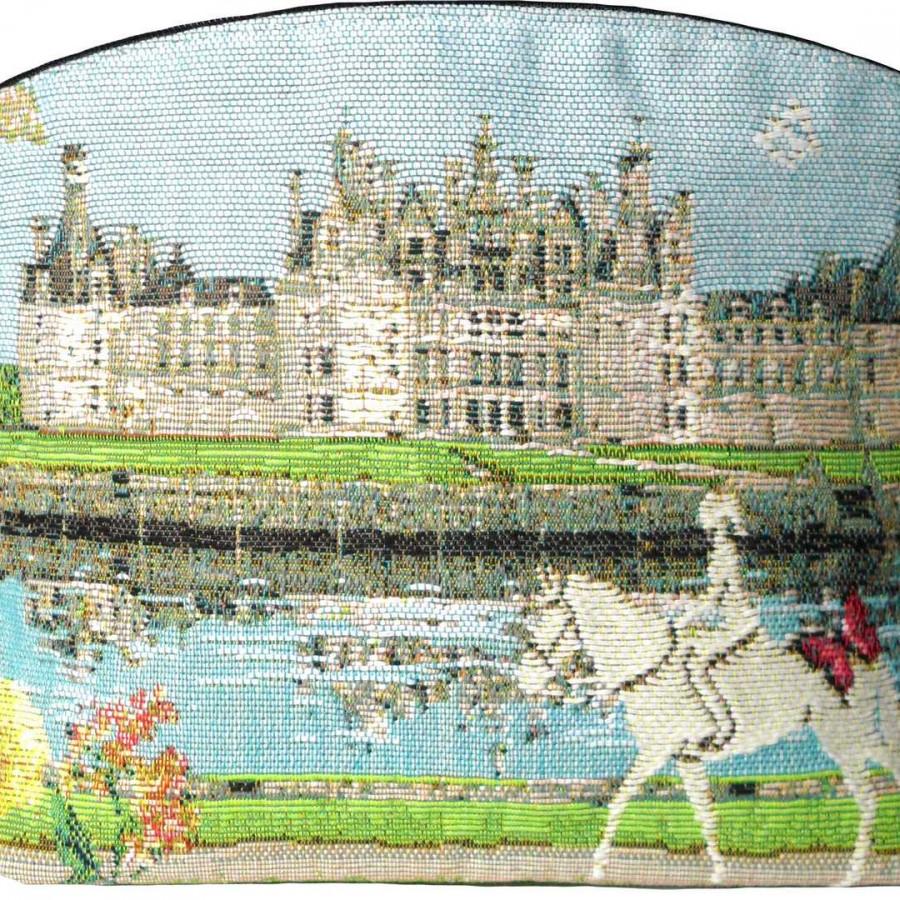 5459X : Chambord castle cosmetic bag
