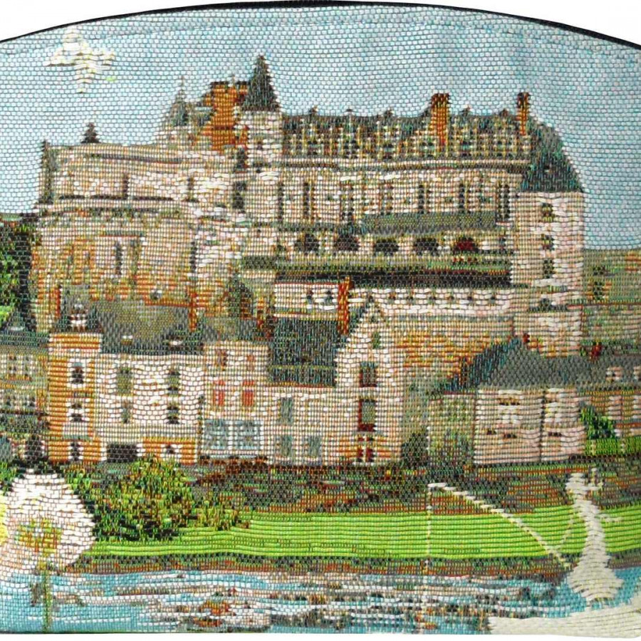 5460X : Amboise castle cosmetic bag