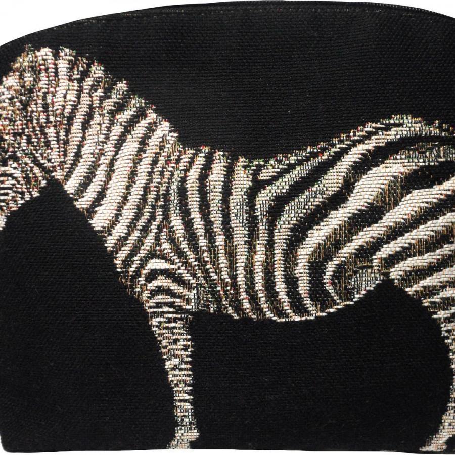 2167X : Zebra cosmetic bag