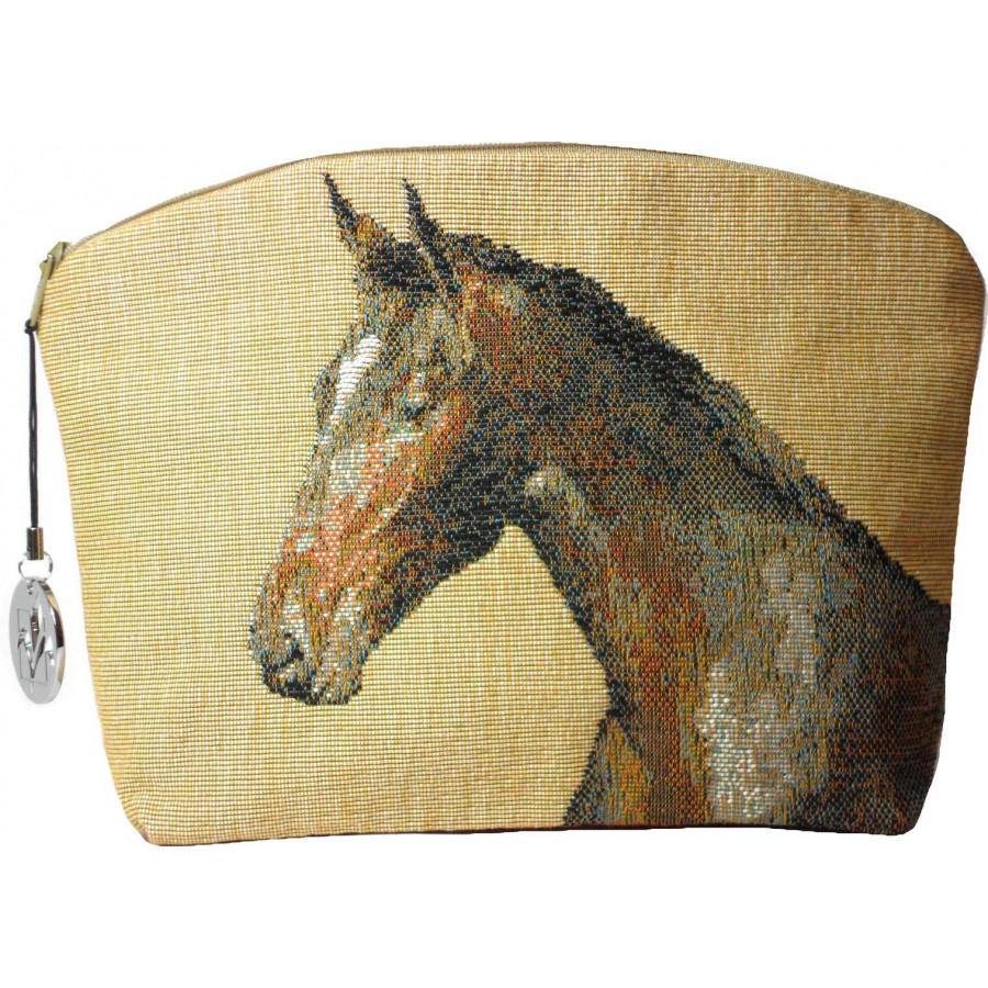 2077C : Horses light background