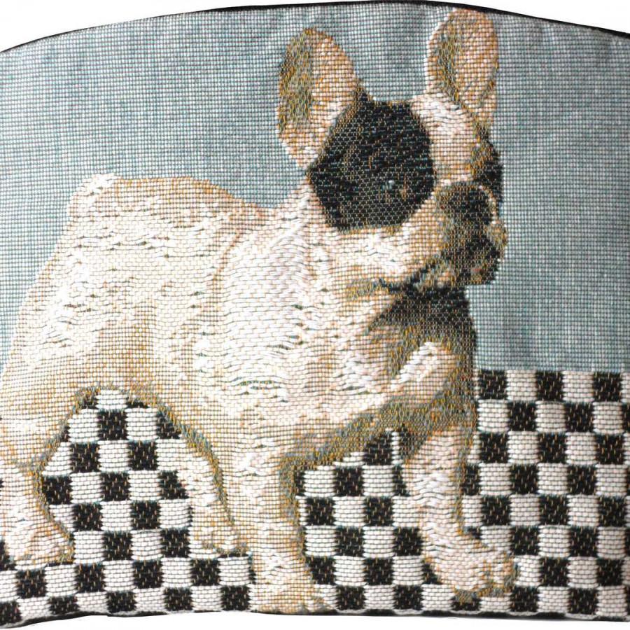 8970B : Dog, blue background