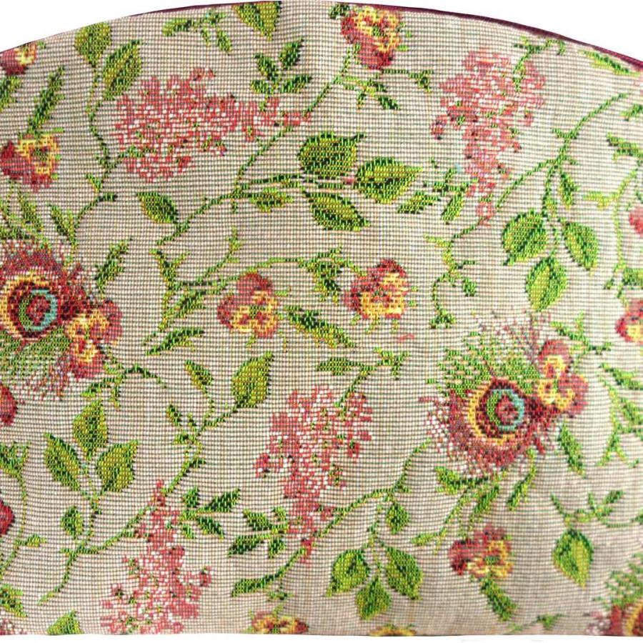 "5536X : Cosmetic bag ""Broché"" flowers, RMN"