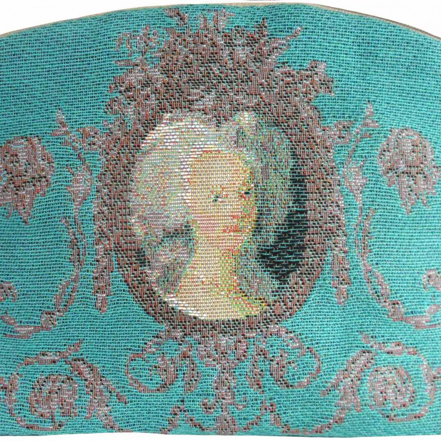 5539T : Portrait of Marie Antoinette, blue background,RMN