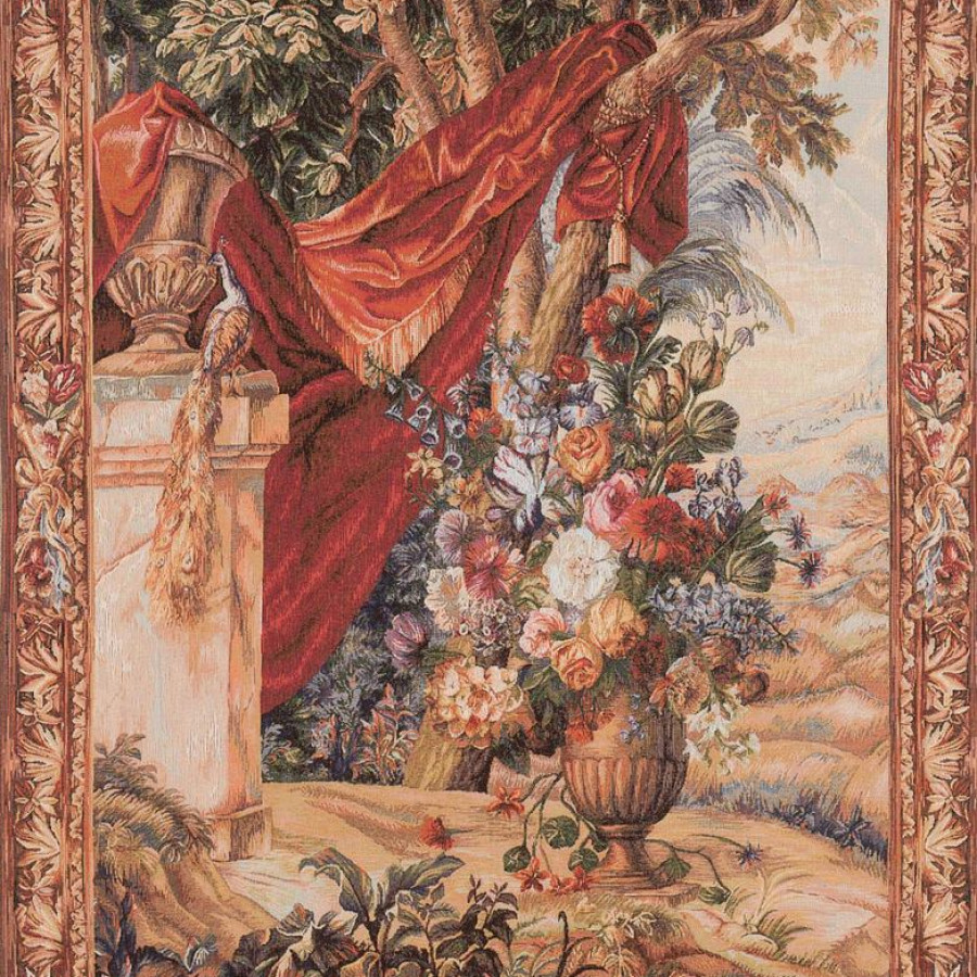 1044 : Bouquet au drapé vertical