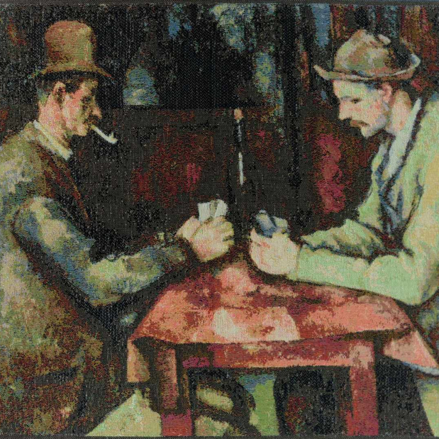 8980 : The card players, Cezanne