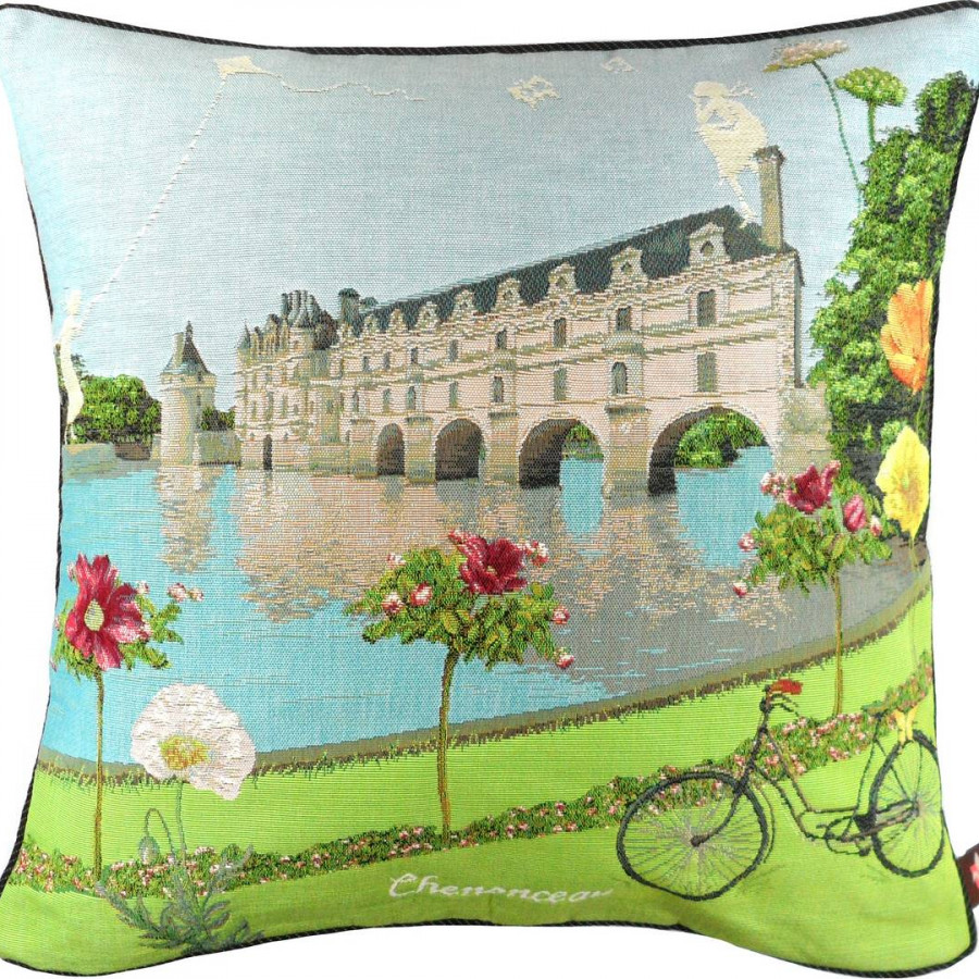 5437X : Flowered Chenonceau castle