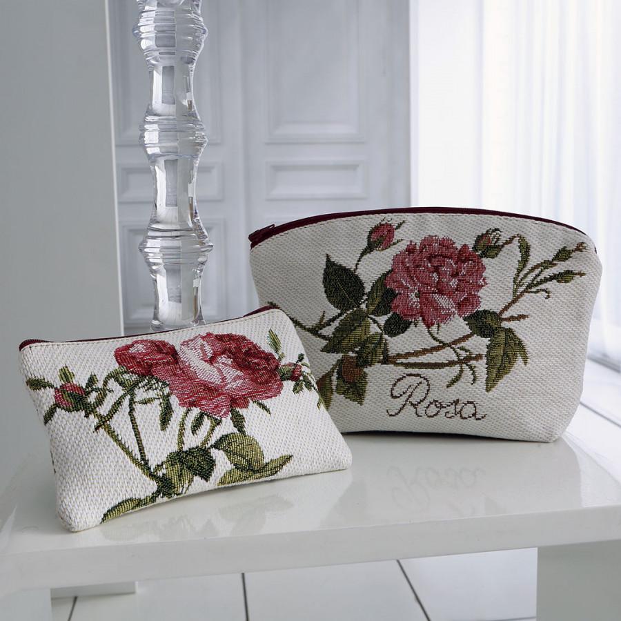 2272P : Roses de Redouté , fond mauve