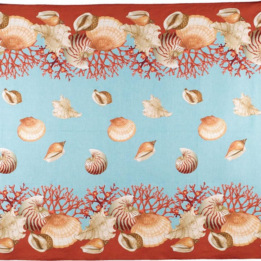 5160T : Shells, blue background