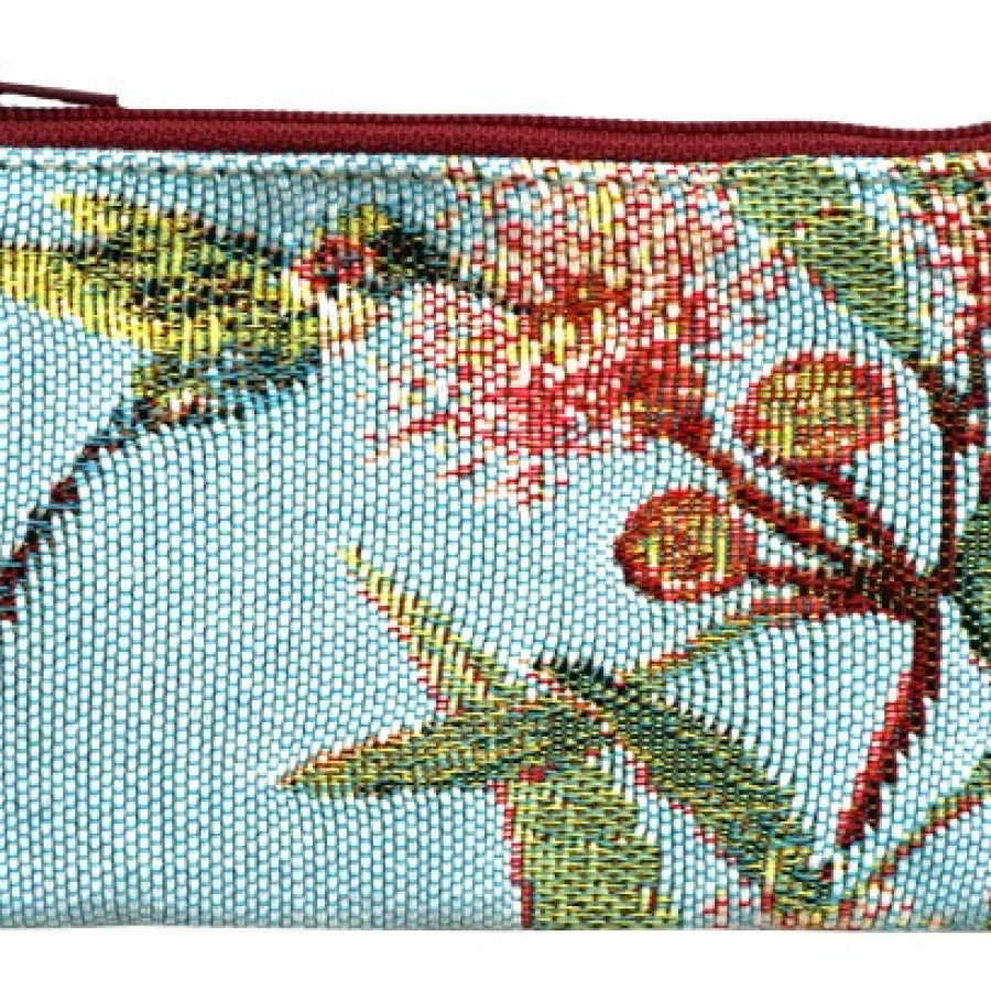Cosmetic bag Big eucalyptus flower