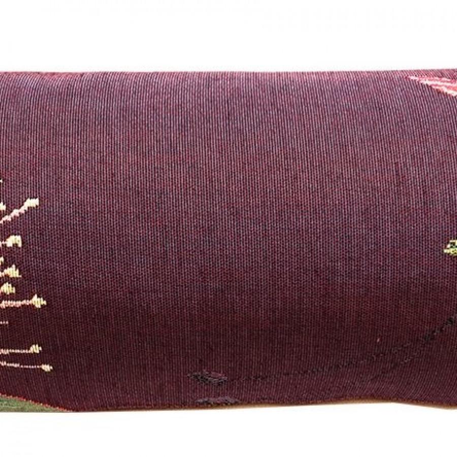 5676P : Eucalyptus et colibri, fond violet