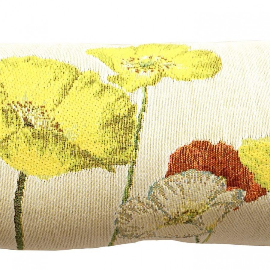 Cushion cover Yellow poppies