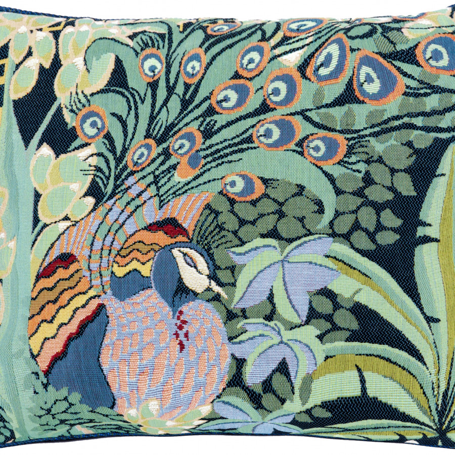 Cushion cover Peacock jungle