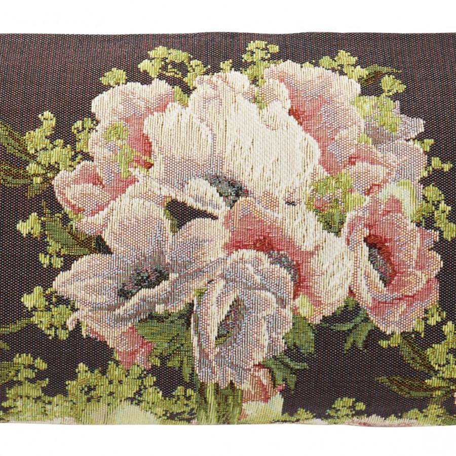 5748P : Bouquet et fleurs, fond violet