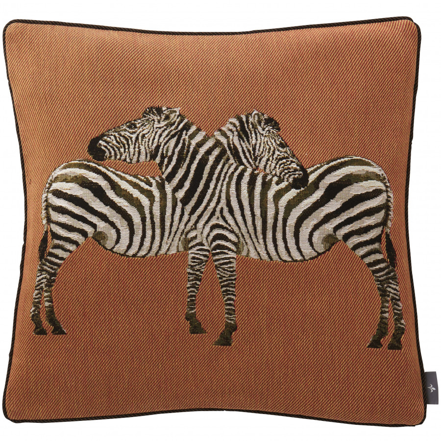 Cushion cover Couple of zebras
