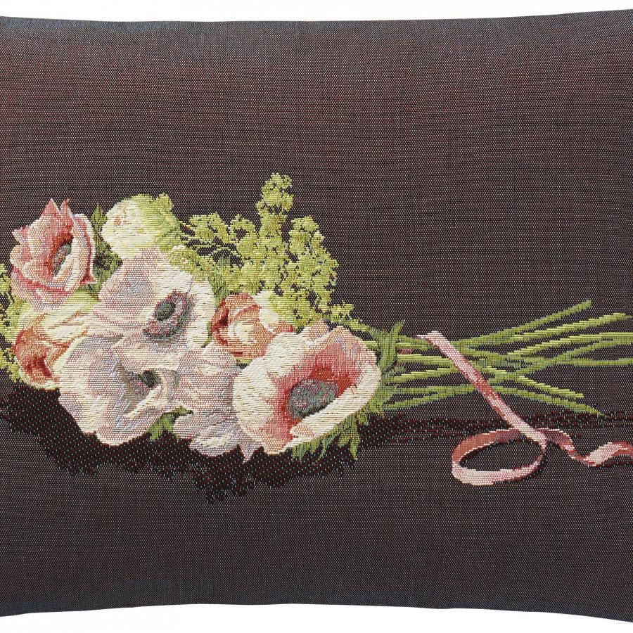 5747P  : Bouquet à venir, fond violet