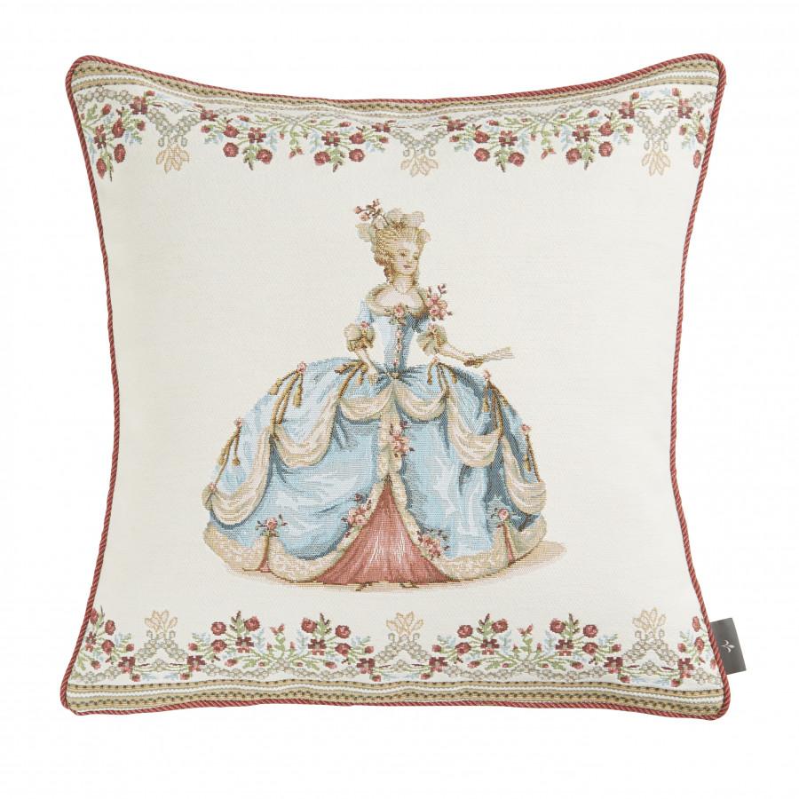 5783B : Duchess in blue, white background