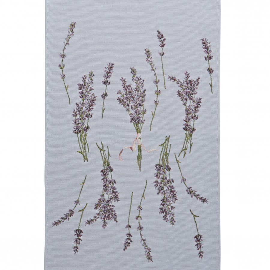 Table runner lavender