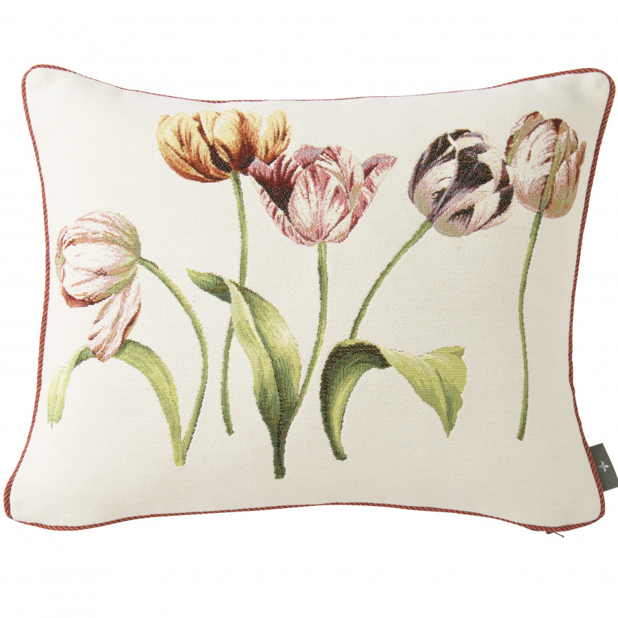 Cushion cover Five tulips