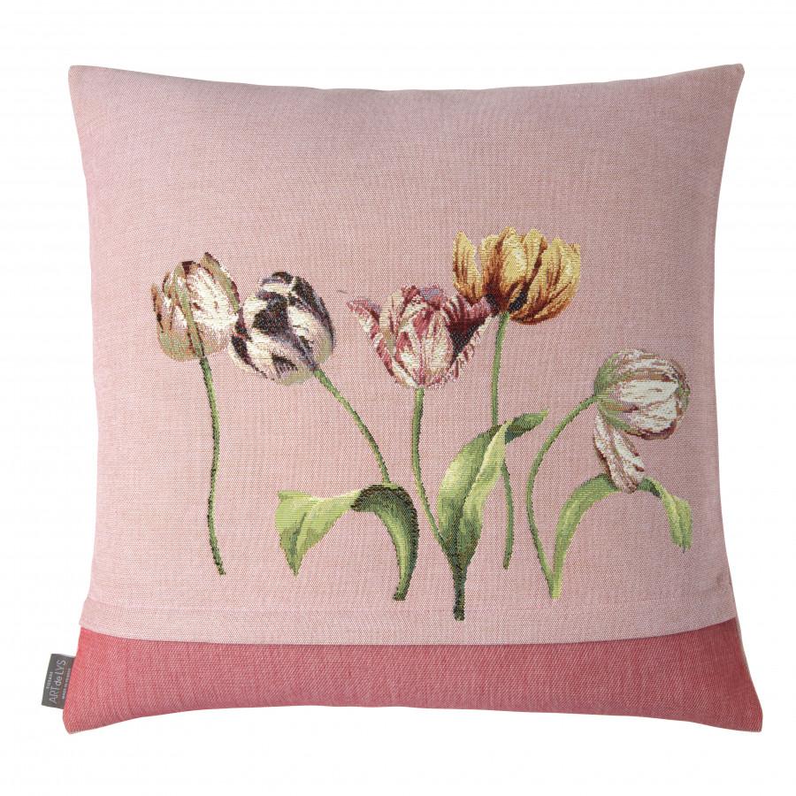 Housse de coussin Bouquet de 3 tulipes