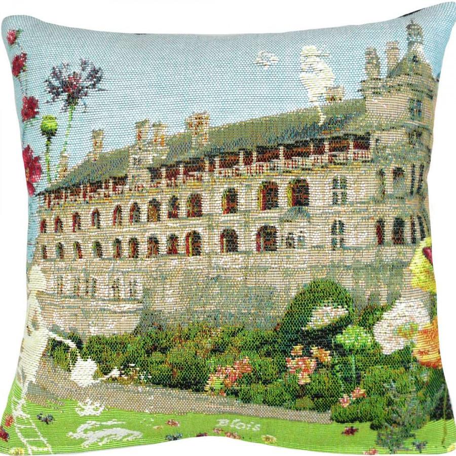 5438X : Château de Blois fleuri