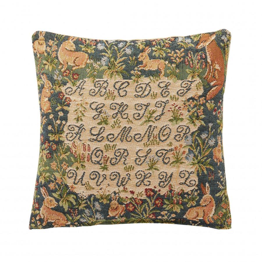 7419B : Cushion ABC pets, blue background