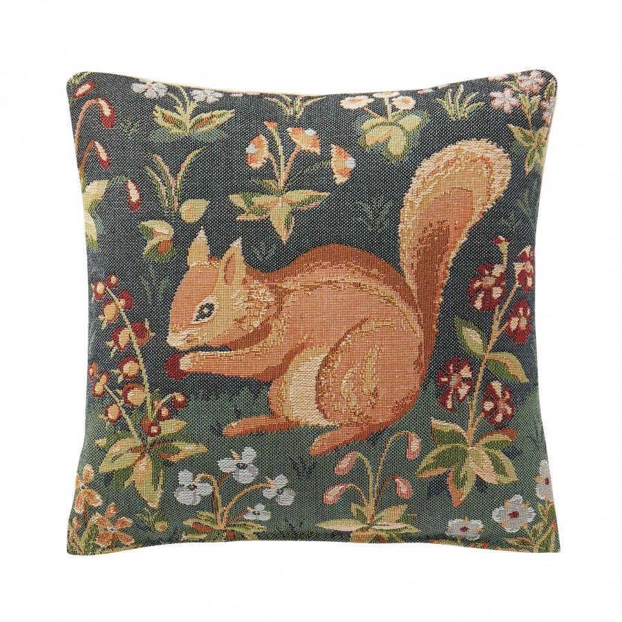 Small cushion  Medieval squirrel