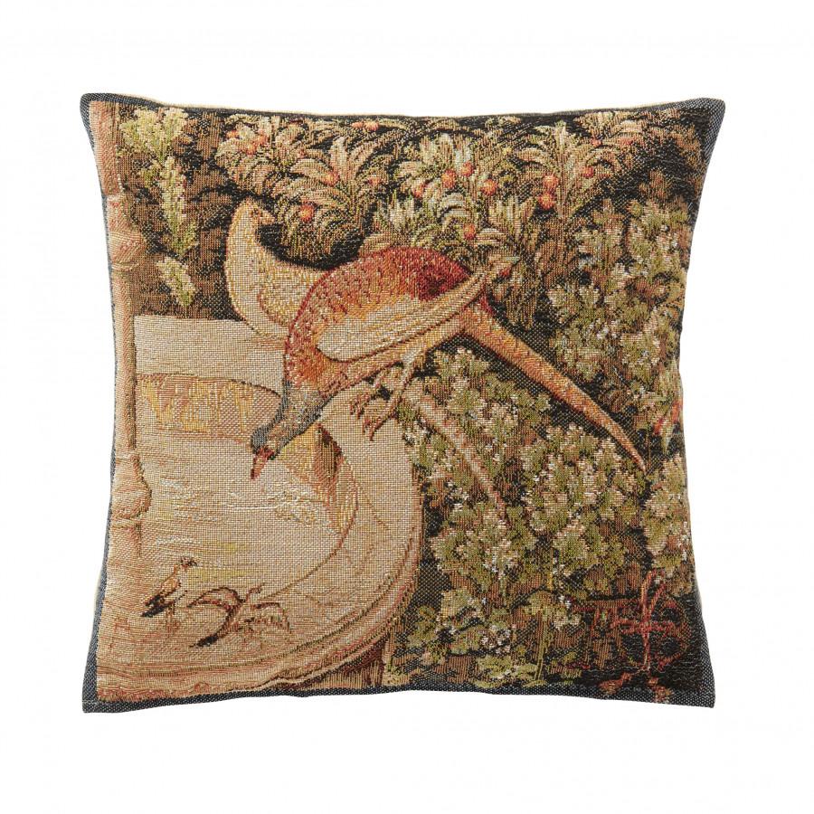 8347 : Small cushion Pheasant