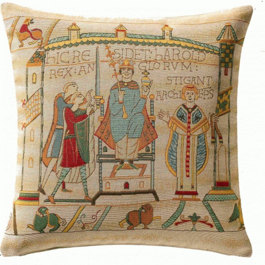 Cushion cover  Small cushion Bayeux cathedral