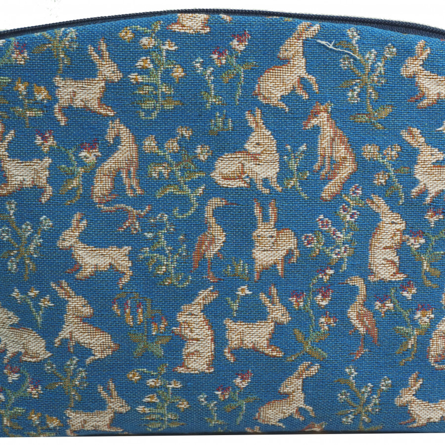 1630X : Cosmetic bag 1000 flowers and animals