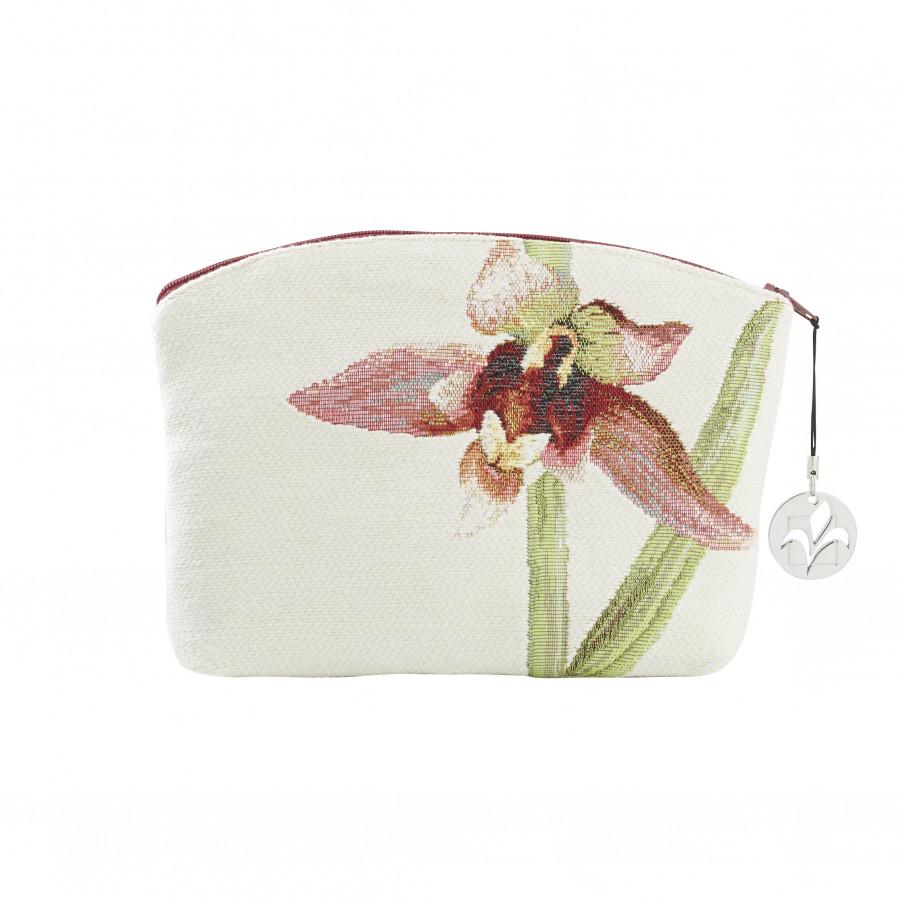 Trousse tapisserie Orchidée